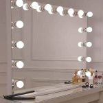 espejo hollywood sin marco bright beauty vanity